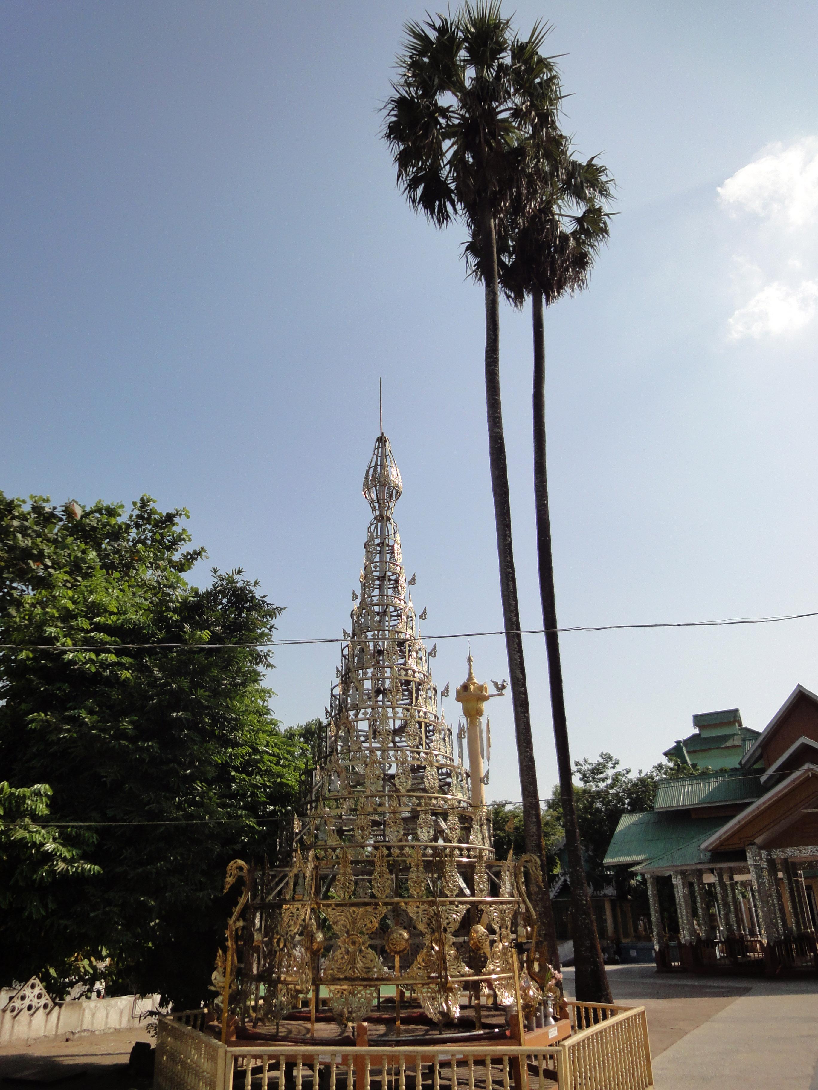 Kyaik Ka San Pagoda stupa crown design features South Oak ka lar 2009 04