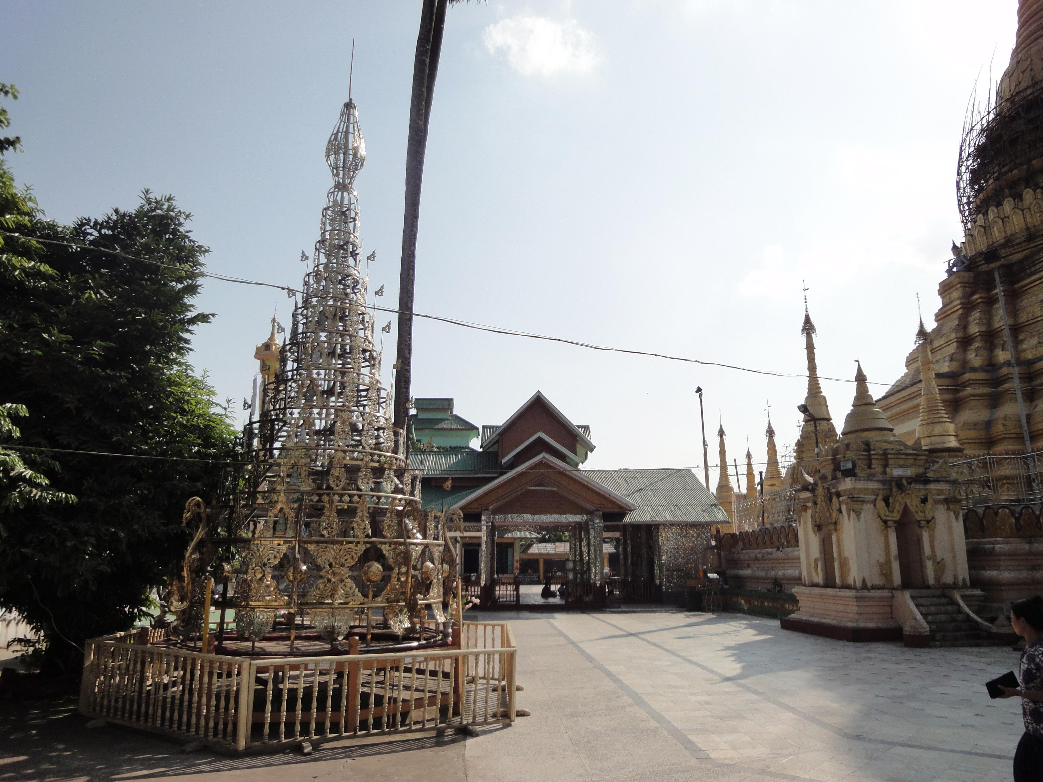 Kyaik Ka San Pagoda stupa crown design features South Oak ka lar 2009 05