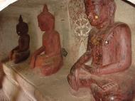 Asisbiz Monywa Po Win Taung Cave Buddhas Dec 2000 06