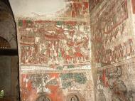Asisbiz Pyin Oo Lwin main monastery paintings Dec 2000 01