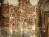 Asisbiz Pyin Oo Lwin main monastery paintings Dec 2000 03
