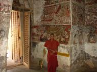Asisbiz Pyin Oo Lwin main monastery paintings Dec 2000 04