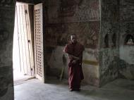 Asisbiz Pyin Oo Lwin main monastery paintings Dec 2000 05