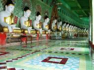 Asisbiz Sagaing U Min Thounzeh Pagoda many faces of the Buddha Dec 2000 11