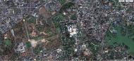 Asisbiz 1 Satelitte map Yangon Shwedagon Pagoda Myanmar 01