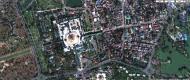 Asisbiz 1 Satelitte map Yangon Shwedagon Pagoda Myanmar 03