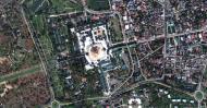 Asisbiz 1 Satelitte map Yangon Shwedagon Pagoda Myanmar 05