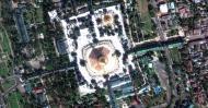 Asisbiz 1 Satelitte map Yangon Shwedagon Pagoda Myanmar 06