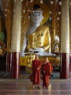 Asisbiz Myanmar Yangon Shwedagon Pagoda Buddhas Dec 2000 03