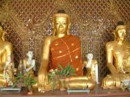 Asisbiz Myanmar Yangon Shwedagon Pagoda Buddhas Oct 2004 02
