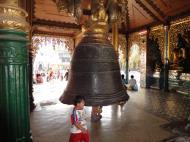 Asisbiz Myanmar Yangon Shwedagon Pagoda Singu Min Bell Jan 2010 06