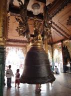 Asisbiz Myanmar Yangon Shwedagon Pagoda Singu Min Bell Jan 2010 07