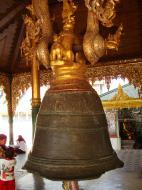Asisbiz Myanmar Yangon Shwedagon Pagoda Singu Min Bell Jan 2010 08