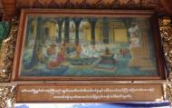 Asisbiz Myanmar Yangon Shwedagon Pagoda Singu Min Bell story in paintings 2010 04
