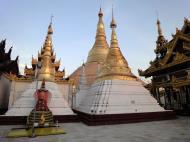 Asisbiz Myanmar Yangon Shwedagon Pagoda at twilight Dec 2009 06