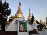 Asisbiz Myanmar Yangon Shwedagon Pagoda at twilight Dec 2009 07