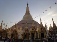 Asisbiz Myanmar Yangon Shwedagon Pagoda at twilight Dec 2009 11