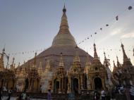 Asisbiz Myanmar Yangon Shwedagon Pagoda at twilight Dec 2009 12