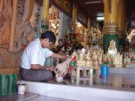 Asisbiz Myanmar Yangon Shwedagon Pagoda entrance Dec 2000 01