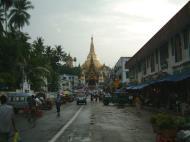 Asisbiz Myanmar Yangon Shwedagon Pagoda entrance Jul 2001 01