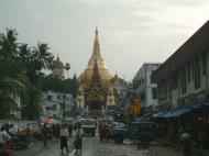 Asisbiz Myanmar Yangon Shwedagon Pagoda entrance Jul 2001 02