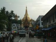 Asisbiz Myanmar Yangon Shwedagon Pagoda entrance Jul 2001 03