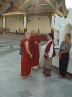 Asisbiz Myanmar Yangon Shwedagon Pagoda main Terrace Dec 2000 05