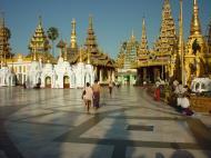 Asisbiz Myanmar Yangon Shwedagon Pagoda main Terrace Dec 2000 10