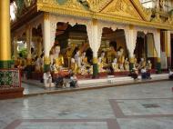 Asisbiz Myanmar Yangon Shwedagon Pagoda main Terrace Dec 2000 12
