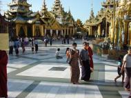 Asisbiz Myanmar Yangon Shwedagon Pagoda main Terrace Dec 2000 15