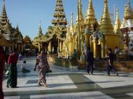 Asisbiz Myanmar Yangon Shwedagon Pagoda main Terrace Dec 2000 18
