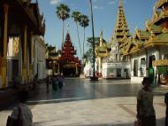 Asisbiz Myanmar Yangon Shwedagon Pagoda main Terrace Dec 2000 25