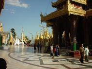 Asisbiz Myanmar Yangon Shwedagon Pagoda main Terrace Dec 2000 27