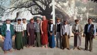 Asisbiz Myanmar Yangon Shwedagon Pagoda new year celibrations with old friends 01