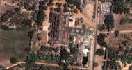 Asisbiz 1 Satellite image Shwethalyaung Buddha second largest Buddha Bago 04