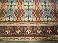 Asisbiz Shwethalyaung Buddha ornate floor tiling Bago 01