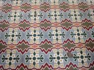 Asisbiz Shwethalyaung Buddha ornate floor tiling Bago 03