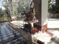 Asisbiz Shwethalyaung Buddha ornate guardians Bago 01