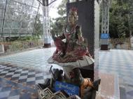Asisbiz Shwethalyaung Buddha ornate guardians Bago 02
