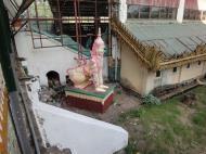 Asisbiz Shwethalyaung Buddha ornate guardians Bago 05