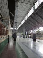 Asisbiz Shwethalyaung Buddha rought iron structure Bago 01