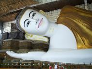 Asisbiz Shwethalyaung Buddha second largest Buddha in the world Bago 03