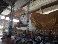 Asisbiz Shwethalyaung Buddha second largest Buddha in the world Bago 04