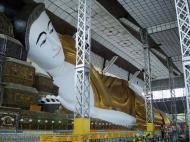 Asisbiz Shwethalyaung Buddha second largest Buddha in the world Bago 05