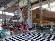 Asisbiz Shwethalyaung Buddha second largest Buddha in the world Bago 09