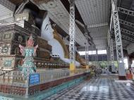 Asisbiz Shwethalyaung Buddha second largest Buddha in the world Bago 11