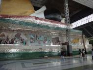 Asisbiz Shwethalyaung Buddha second largest Buddha in the world Bago 13