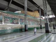 Asisbiz Shwethalyaung Buddha second largest Buddha in the world Bago 14