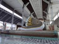 Asisbiz Shwethalyaung Buddha second largest Buddha in the world Bago 17