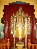 Asisbiz Pagan Shwezigon Pagoda main Buddhas Dec 2000 04